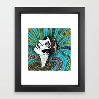 Invisible Things Framed Art Print
