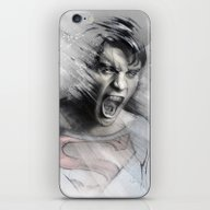 iPhone & iPod Skin featuring Superheroes SF by Alexis Marcou