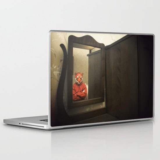 He Waits Silently  Laptop & iPad Skin