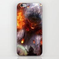 To Hunt Gods iPhone & iPod Skin