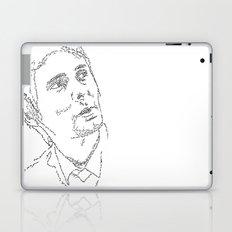 Matthew Bellamy WordsPortrait Laptop & iPad Skin