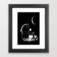 The Guest Framed Art Print