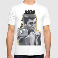 Box Ali Muhammad  Mens Fitted Tee White SMALL