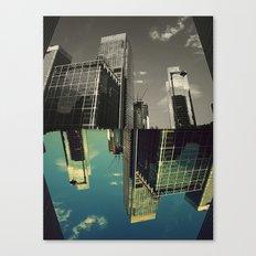 Canary Wharf - Poster, Art Print, Framed Art Print and Canvas  Canvas Print