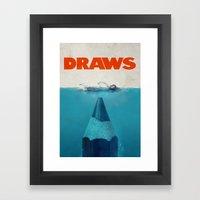 DRAWS Framed Art Print