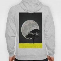 Lone Tree And Moon. Hoody