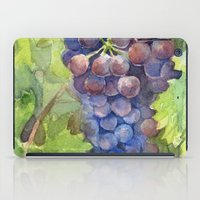 Grapes Watercolor | Wine Lovers iPad Case
