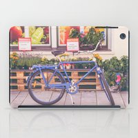Market Bicycle iPad Case