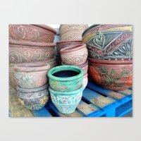 Melting Pot Canvas Print
