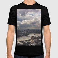 London Above Mens Fitted Tee Black SMALL