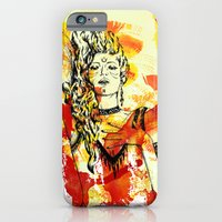 iPhone & iPod Case featuring Tribal Beauty 2 by Katya Zorin