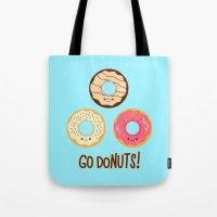 Go doNUTS! Tote Bag