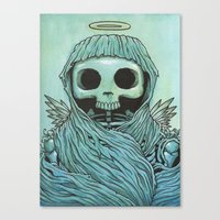 Strangely  Familiar  Canvas Print