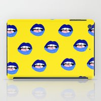 Blue Lips iPad Case