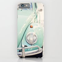 Escarabajo turquesa. iPhone 6 Slim Case