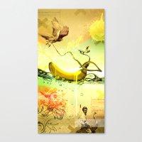 old banana Canvas Print