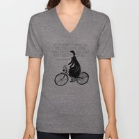 Audrey Always Knows What… Unisex V-Neck