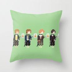 Hobbits Throw Pillow