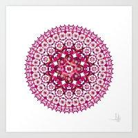 Khatem Rosette 002 | Mag… Art Print