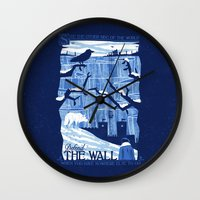 Defend The Wall Wall Clock