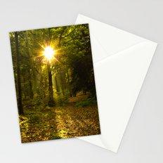 Autumn Sunburst Stationery Cards