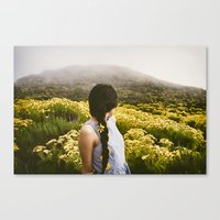 Lucy at Point Dume Canvas Print