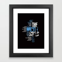 The Mighty Souls: Jazz Legends Framed Art Print
