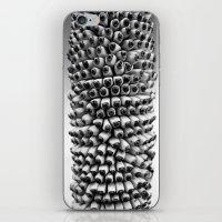 Bananas black and white iPhone & iPod Skin