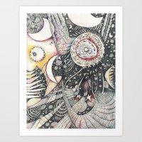 The Silver Cord Art Print
