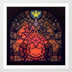 Sage Of Fire Art Print