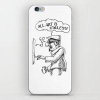 All Art Is Useless iPhone & iPod Skin