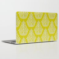 SPIRIT Lime White Laptop & iPad Skin
