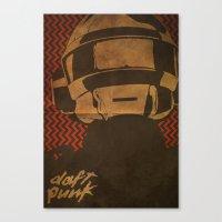 Daft Punk Thomas Bangalt… Canvas Print