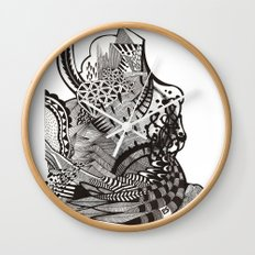 abstract vol 1 Wall Clock