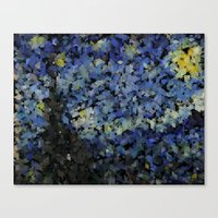 Panelscape Iconic - Starry Night Canvas Print