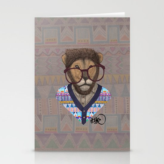 collaboration: Kris Tate and Börg Stationery Card