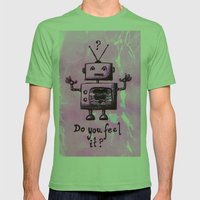 Do You Feel It? Mens Fitted Tee Grass SMALL