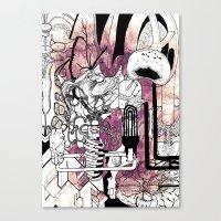 Missing Parts Canvas Print