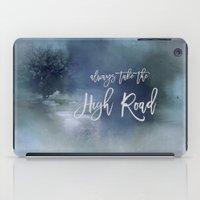 Always Take The High Road iPad Case