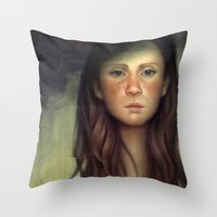 The Patchwork Spouse Throw Pillow