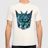 Decepticons Abstractness… Mens Fitted Tee Natural SMALL