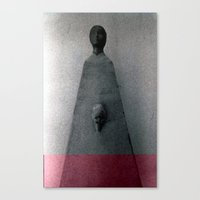 senza titolo Canvas Print