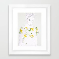 Pattern Study #1 Framed Art Print
