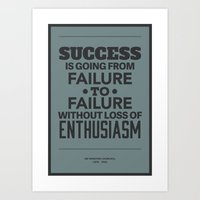 Success Art Print