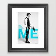"Han Solo  - ""I Take Or… Framed Art Print"