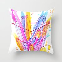 Digestion Throw Pillow
