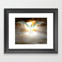 Angelic Maiden Framed Art Print