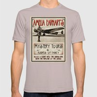 Mystery Tours & Flights of Fancy Mens Fitted Tee Cinder SMALL
