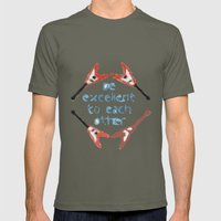 Be Excellent To Each Oth… Mens Fitted Tee Lieutenant SMALL