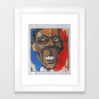 Obama Abstract Framed Art Print